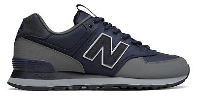 new product de405 b63aa New Balance Men's 574 Outdoor Escape Shoes Navy with Grey